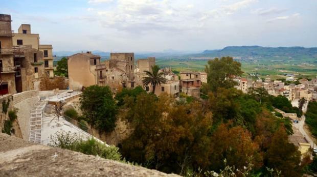 Заброшенный район города Салеми