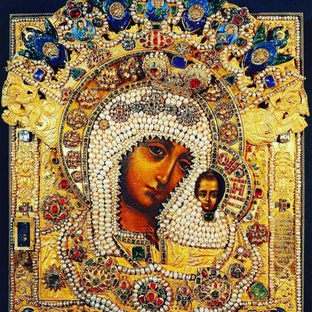 образ Казанской иконы Божией Матери