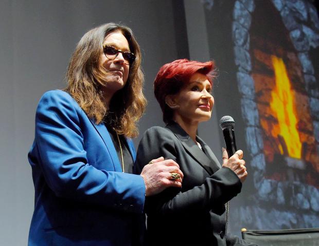 Оззи и Шерон Осборн