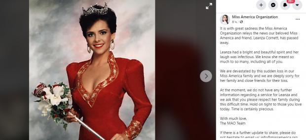 """публикация сообщества """"Мисс Америка"""""""
