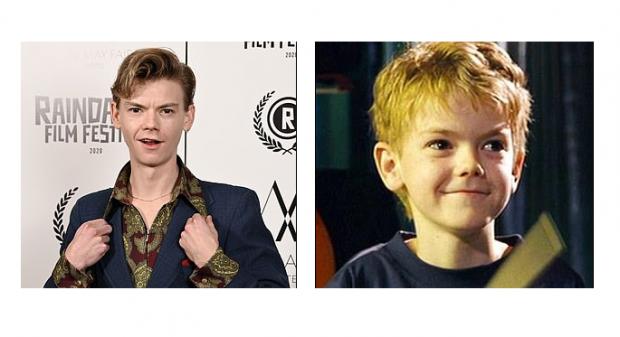 Томас сейчас и в детстве