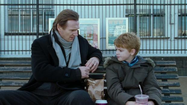Лиам Нисон с маленьким Томасом
