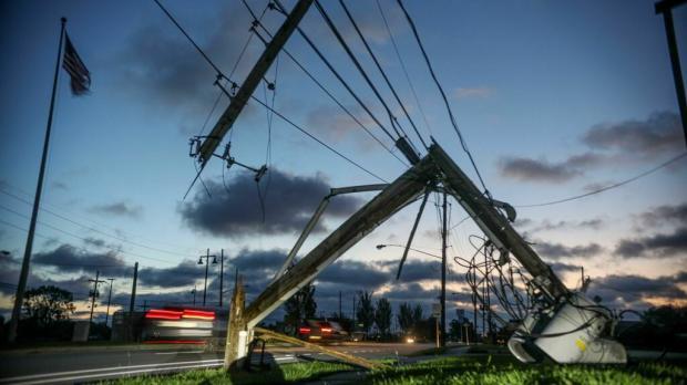 ураган Зета в США