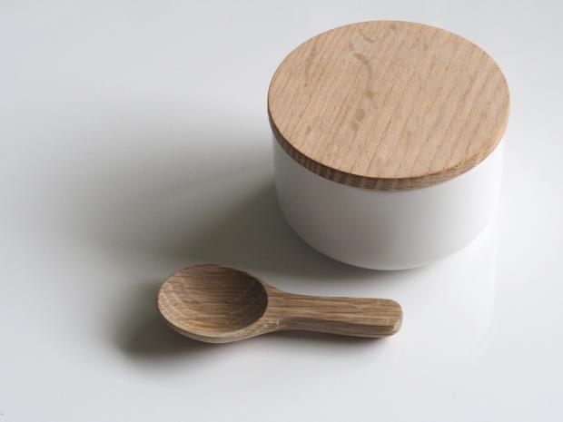 деревянная ложка и короб