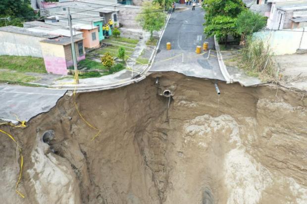 разрушение вулкана в Сальвадоре
