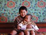 Будущий король Бутана с братом