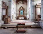 Заброшенная церковь в Бельгии