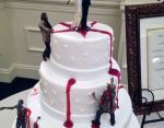 Свадебный торт с непонятным смыслом