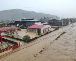 Мощный тайфун Гони обрушился на Филиппины и унес жизни четырех человек