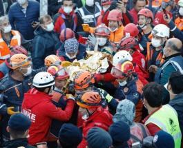 3-летняя девочка спасена из-под завалов в Турции спустя 65 часов после землетрясения