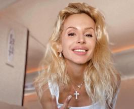 Светлана Лобода в блестящем мини-платье украсила обложку модного журнала