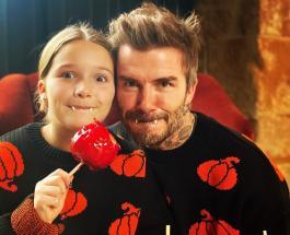 Чем на карантине занимается Дэвид Бекхэм с дочерью: милый семейный вечер футболиста