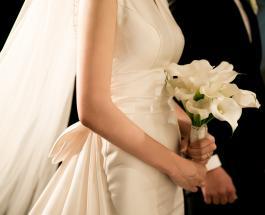 Свадебный тренд 2020: маски для лица подходящие к платью невесты
