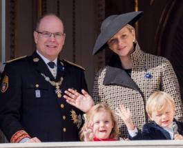 Князь и княгиня Монако порадовали публику выходом в свет вместе с 5-летними близнецами