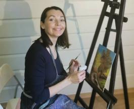 Наталия Антонова написала новую картину: работу актрисы высоко оценили поклонники