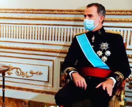 Король Испании Филипп VI отправлен на карантин после контакта с человеком зараженным Covid-19