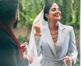 Индийская невеста в брючном костюме: блогер Санджана Риши произвела фурор в соцсетях