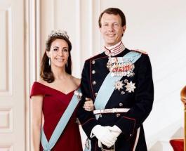 Новый портрет принца Иоахима и принцессы Мари опубликовал королевский двор Дании