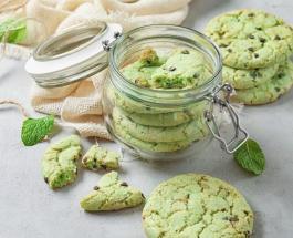 Мятное печенье с горьким шоколадом: простой рецепт оригинального лакомства