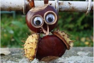 Осенний досуг с детьми: топ-10 идей для создания забавных фигурок из каштанов
