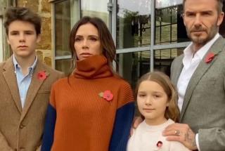 Новое видео Виктории Бекхэм: звездная мамочка гордится вокальными данными младшего сына