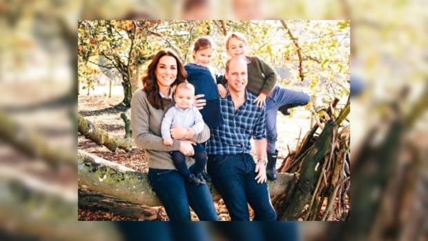 Красивая семья Принца Уильяма