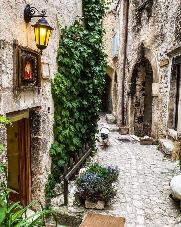 Древний итальянский город