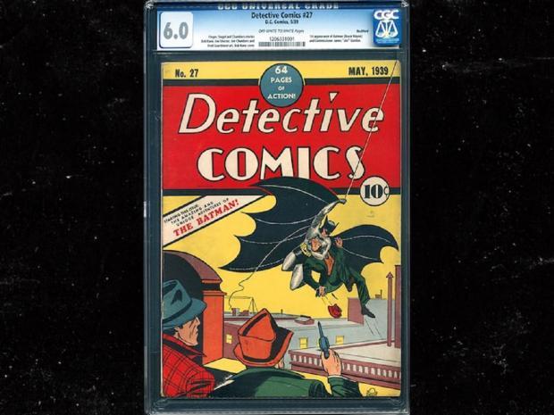комикс о Бэтмене