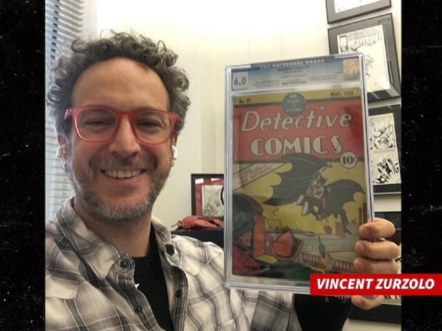 Комикс о Бэтмене и организатор аукциона