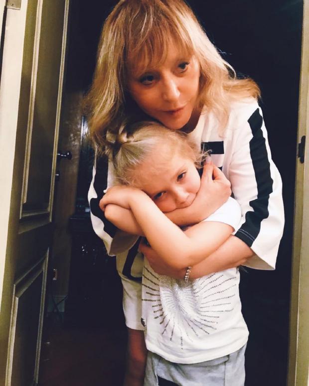Алла Пугачева с дочерью
