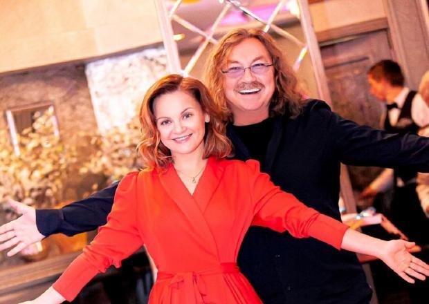 Юлия Проскурякова с мужем