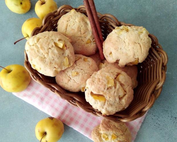 Печенья с яблоками