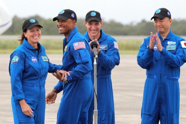 астронавты, которые отправятся на МКС