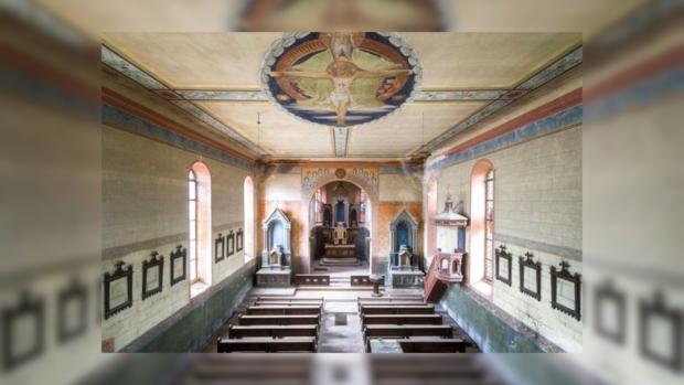Заброшенная церковь в Германии