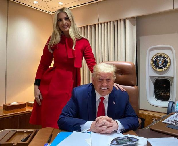 Иванка и Дональд Трамп