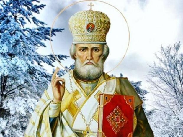 икона святителя Николая, епископа Мирликийского