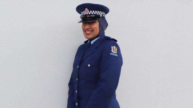 Первая женщина-полицейский в хиджабе в Новой Зеландии