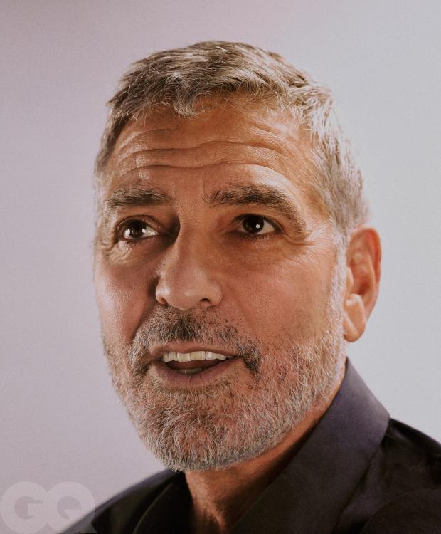 Новый портрет небритого Джорджа Клуни