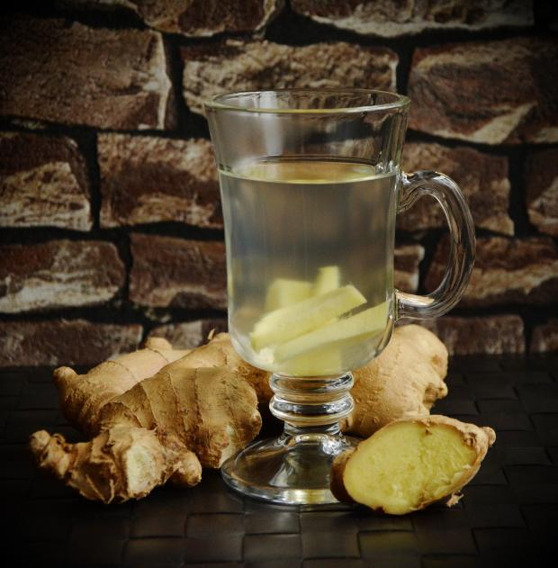 имбирный чай, корень имбиря