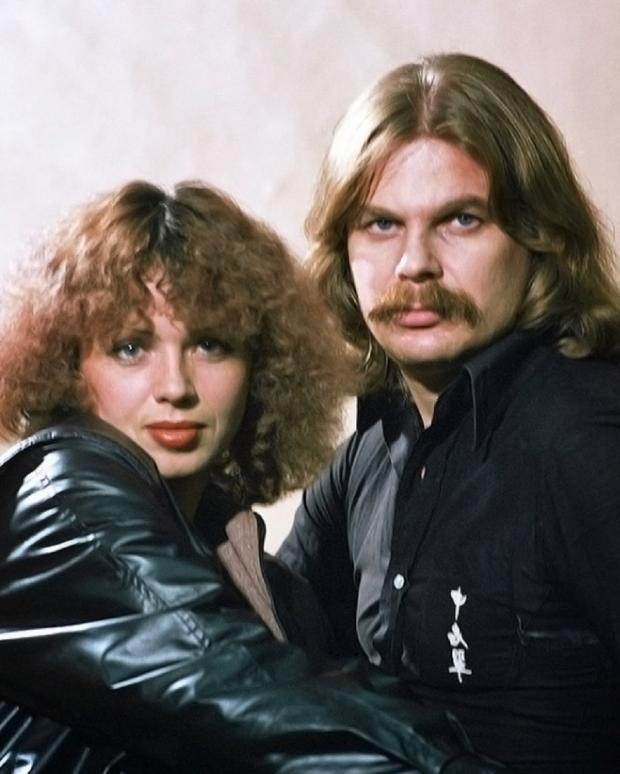 Елена Преснякова с мужем