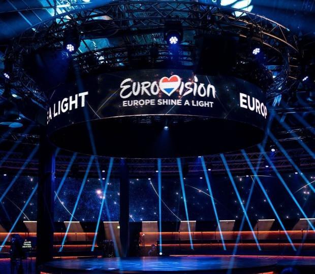 Сцена Евровидения 2021 в Роттердаме