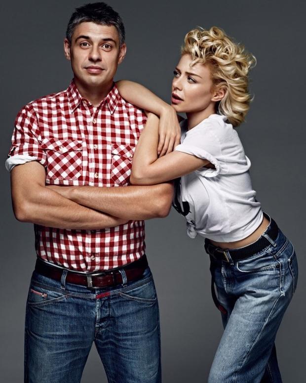 Тина Кароль с мужем