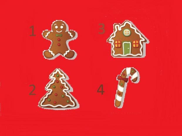 тест-предсказание по рождественским пряникам