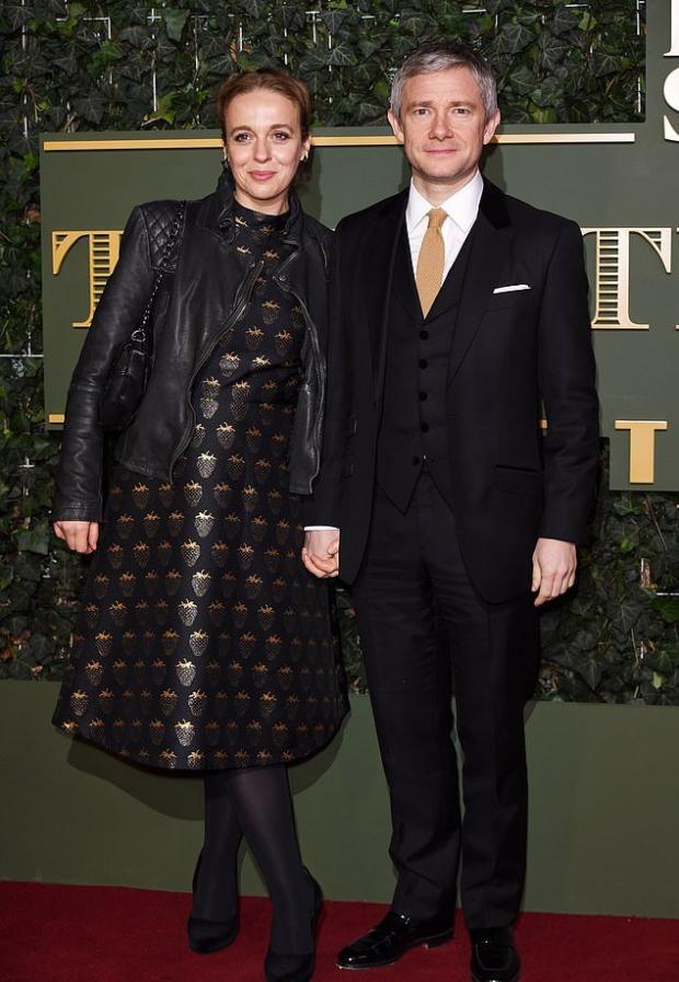 Мартин Фримен с бывшей женой