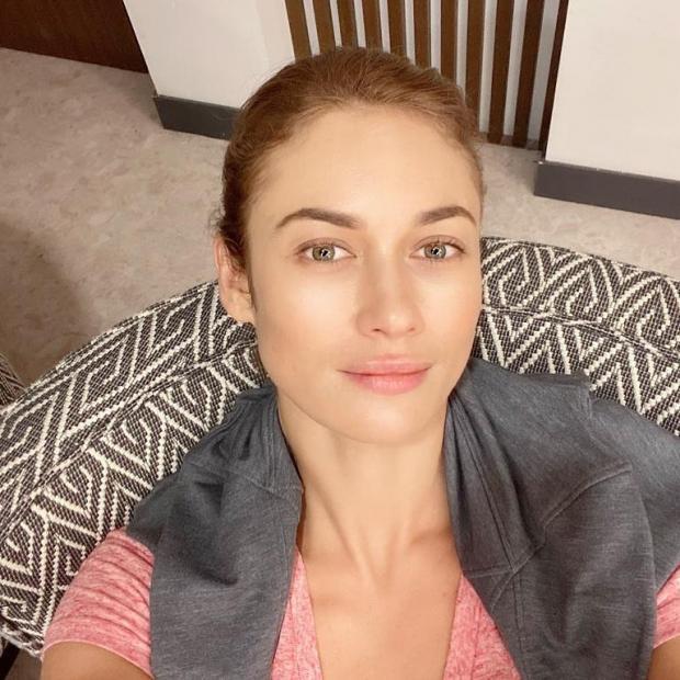 Ольга Куриленко без макияжа