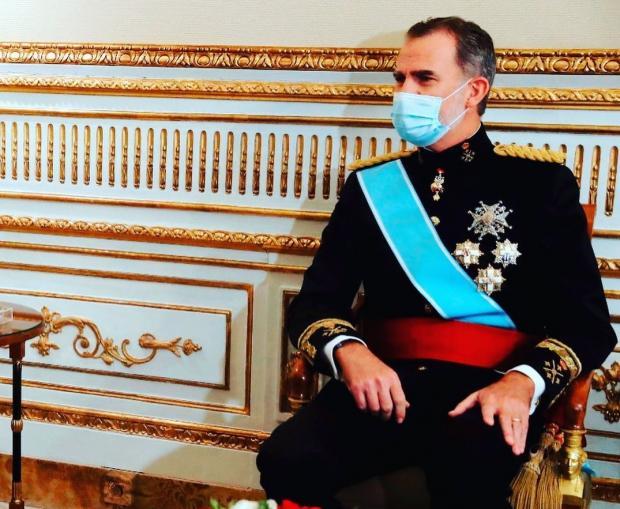 Король Испании Филипп четвертый
