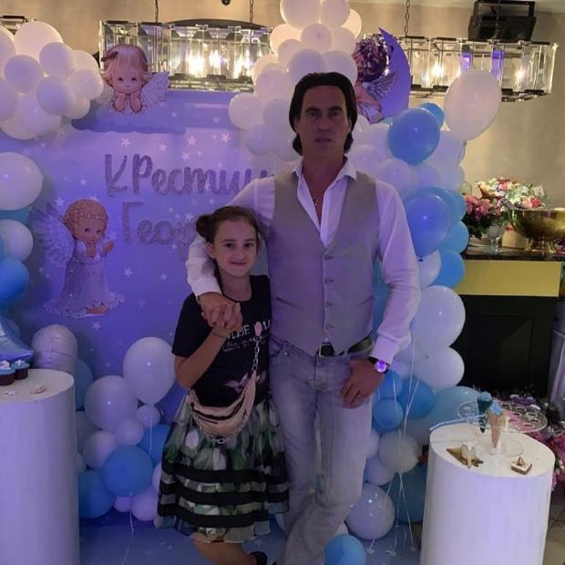 Эмилия с отцом