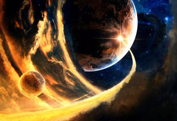 магнитная буря на Солнце плюс Земля