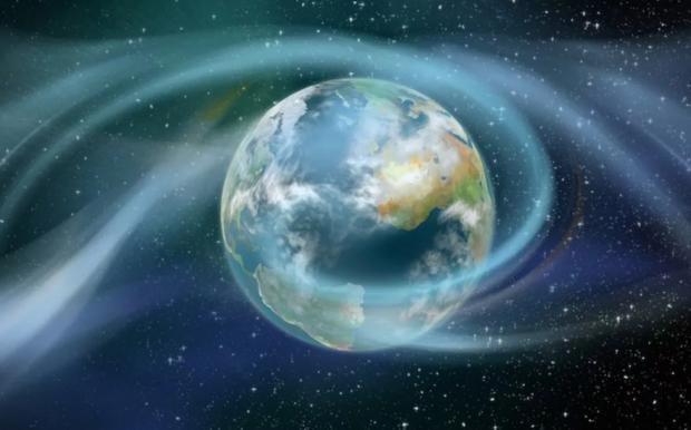 голубая Земля в космосе