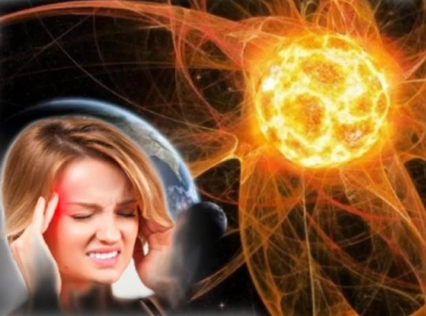 у девушки болит голова в период магнитной бури